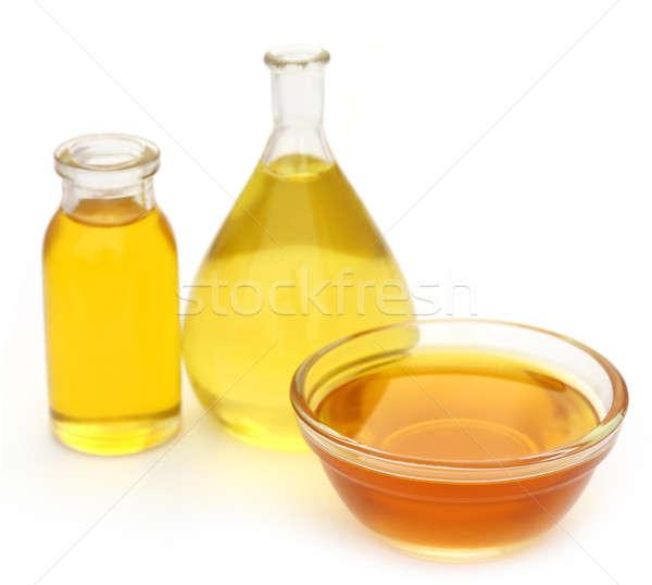 Aceite de cocina diferente fondo botella cocina líquido Foto stock © bdspn