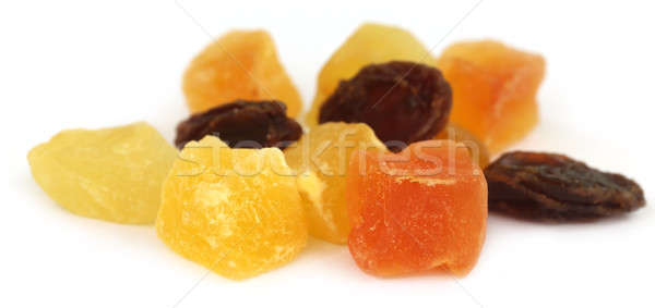 Dried fruits apricot, papaya and raisin Stock photo © bdspn