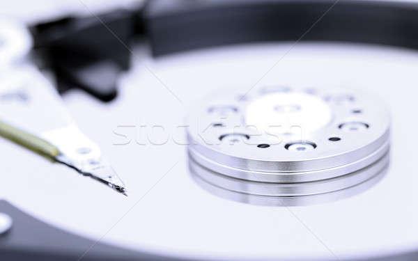 Otwarte technologii bezpieczeństwa sklepu Zdjęcia stock © bdspn