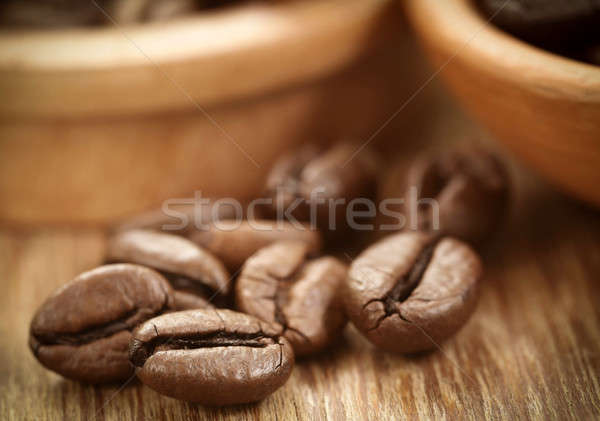 Roasted coffee bean Stock photo © bdspn