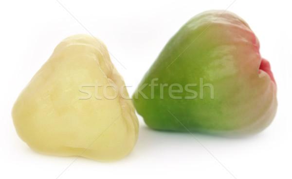 Eau douce pomme rose blanche eau alimentaire Photo stock © bdspn