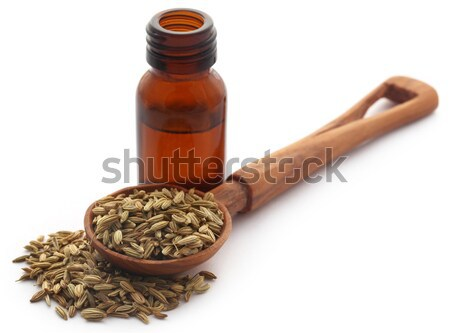 Stock photo: Medicinal cannabis with extract oil