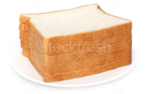 Fresh loaves over white background Stock photo © bdspn