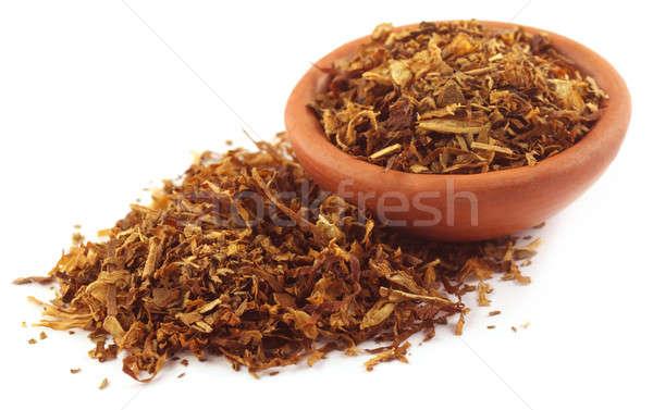 табак сигарету небольшой чаши белый Сток-фото © bdspn