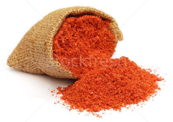 肥料 袋 食品 オレンジ 緑 ストックフォト © bdspn