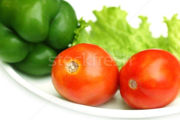 Fresh Salad vegetables Stock photo © bdspn