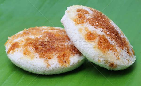 Bangladeshi Bhapa Pitha or steamed rice cake Stock photo © bdspn