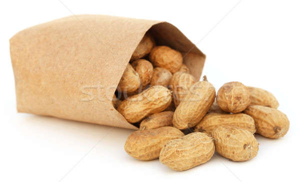 Peanuts in a packet Stock photo © bdspn