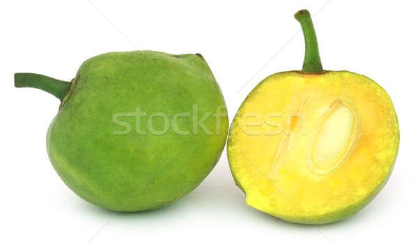 Yenilebilir Bangladeş beyaz meyve yumurta meyve Stok fotoğraf © bdspn