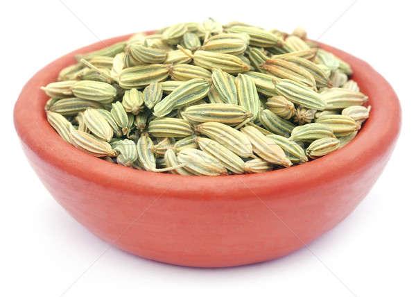 Koper nasion biały glina żywności gotowania Zdjęcia stock © bdspn