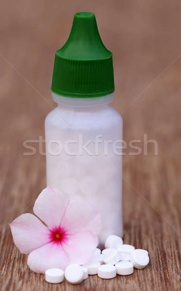 Homeopathic medicine Stock photo © bdspn