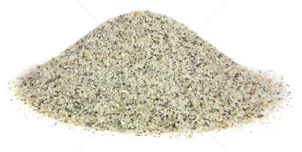 Sand as building material Stock photo © bdspn