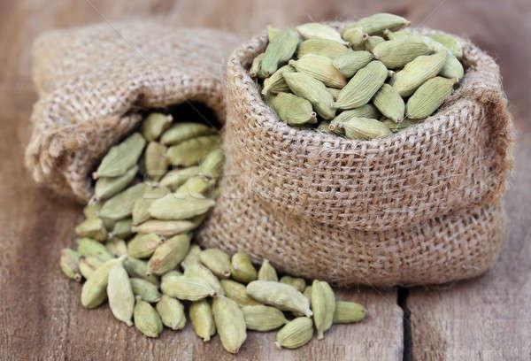 Kakule tohum gıda sağlıklı Stok fotoğraf © bdspn