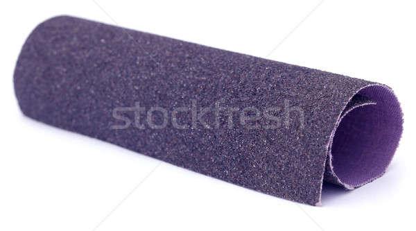 Sand paper roll Stock photo © bdspn