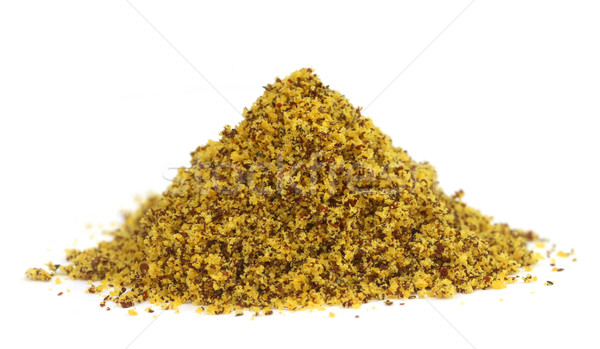 Pile of ground mustard Stock photo © bdspn