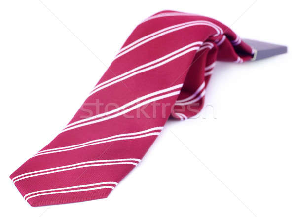 Close up of a necktie Stock photo © bdspn