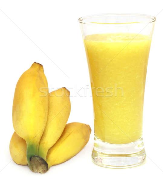 Banana juice with fresh fruits Stock photo © bdspn