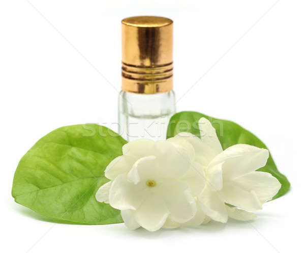 Jasmine flower with essence bottle Stock photo © bdspn