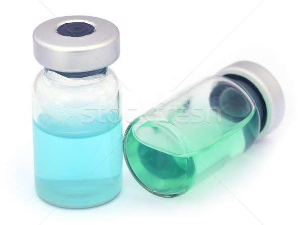 二 白 關閉 醫生 玻璃 健康 商業照片 © bdspn