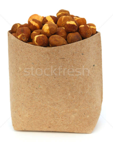 Chickpea in a paper pack Stock photo © bdspn