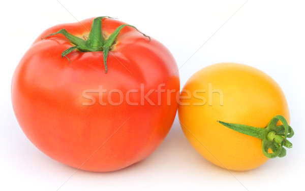 Ripe tomatoes of two colors Stock photo © bdspn
