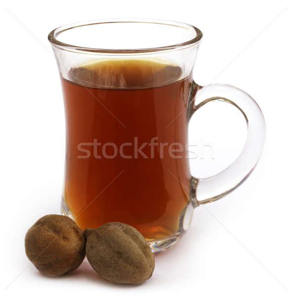 Indian thee vruchten beker dranken Stockfoto © bdspn