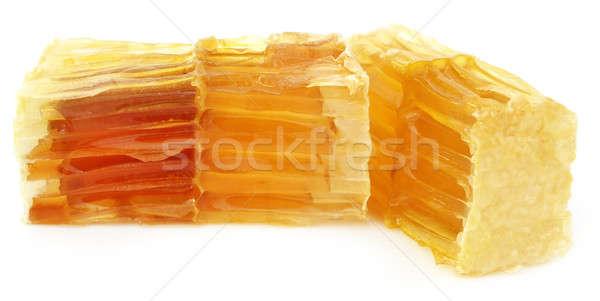 Mel pente branco comida alimentação amarelo Foto stock © bdspn
