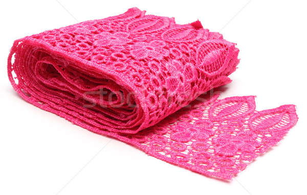 Closeup of pink lace  Stock photo © bdspn