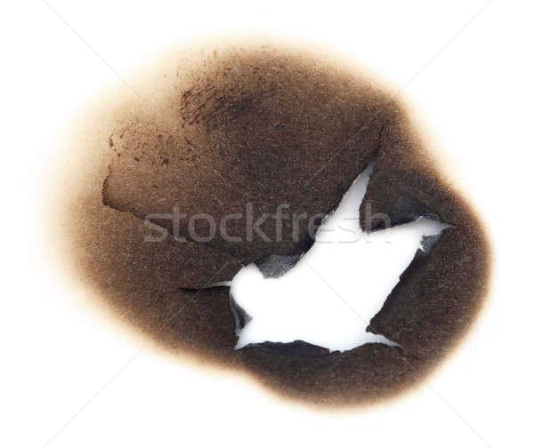 Burnt Paper Stock photo © bdspn