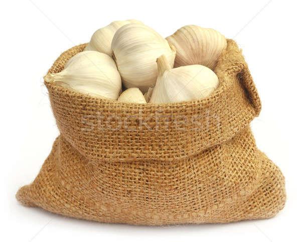 ニンニク 白 食品 健康 グループ ストックフォト © bdspn