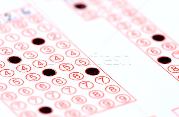 Tömés regisztráció űrlap fekete tinta papír Stock fotó © bdspn
