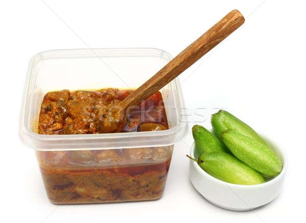 Vruchten groene asia pot dieet Stockfoto © bdspn