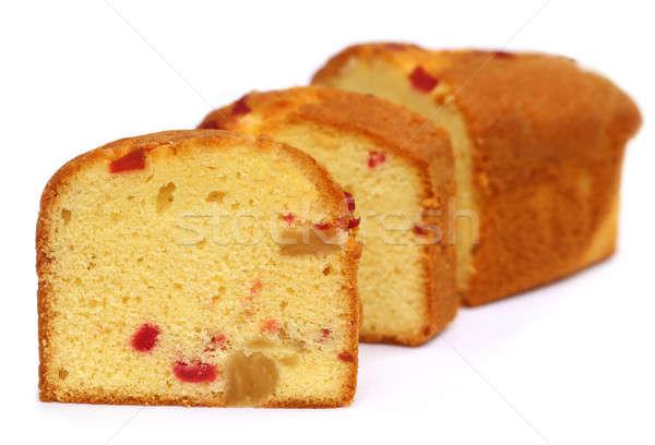 Sliced Fruitcake Stock photo © bdspn