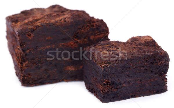 Close up of peat block Stock photo © bdspn
