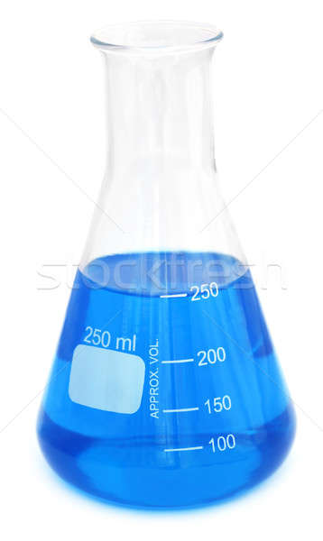 Conical flask with chemical Stock photo © bdspn