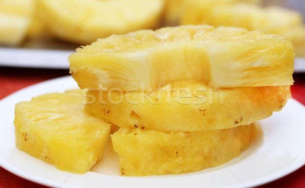 Stock photo: Sliced Pineapple