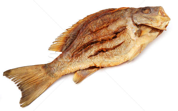 Dried Barramundi or Koral fish of Southeast Asia Stock photo © bdspn