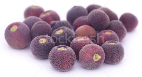 Gyümölcsök Délkelet-Ázsia fehér egészség háttér trópusi Stock fotó © bdspn