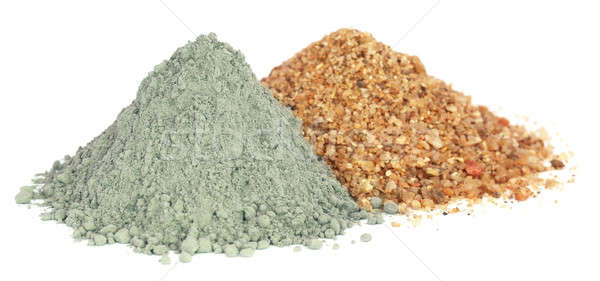 Grady cement powder with gravel Stock photo © bdspn