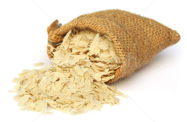 Flattened rice of South East Asia Stock photo © bdspn