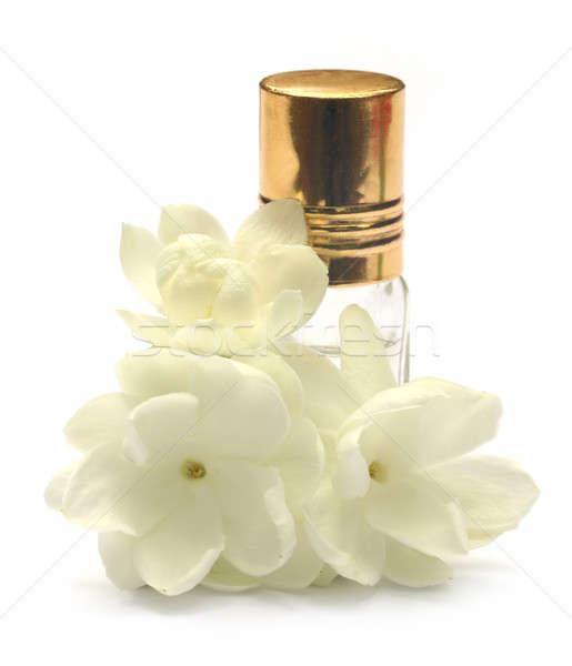 цветок сущность бутылку белый природы группа Сток-фото © bdspn