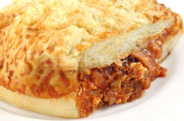 Stock photo: Chicken cheese puff