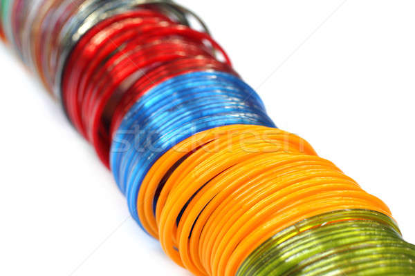 Traditional glass bracelets of Southeast Asia Stock photo © bdspn