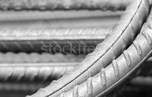 Foto stock: Aço · bar · construção · edifício · fundo