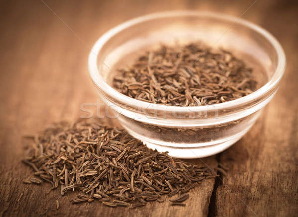 Stock photo: Caraway seeds