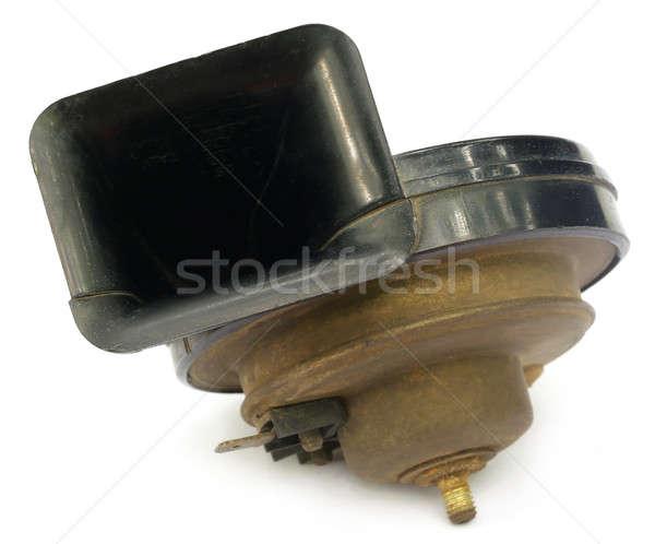 Stock photo: Vehicle horn