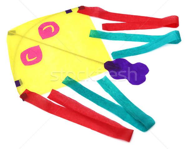 Traditioneel Kite dun papieren hemel papier Stockfoto © bdspn