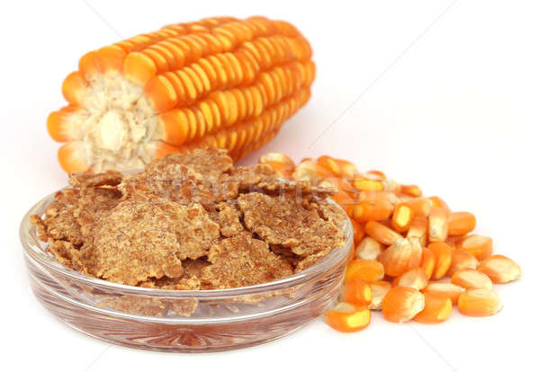 Corns with flakes Stock photo © bdspn