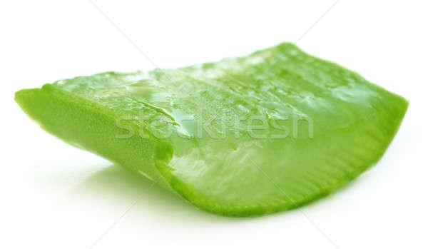 Soyulmuş aloe su güzellik tıp bitki Stok fotoğraf © bdspn