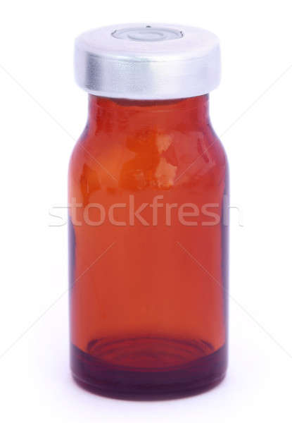 Brown vial Stock photo © bdspn